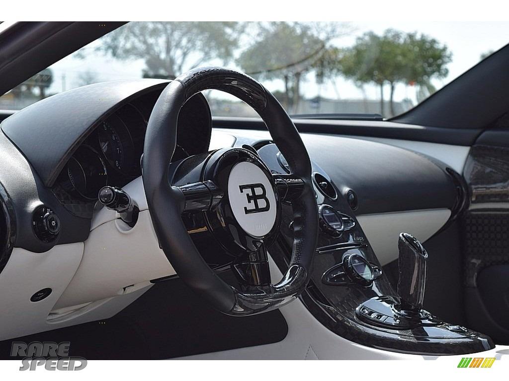 2008 Veyron 16.4 Mansory Linea Vivere - Pearl Metallic / White photo #79
