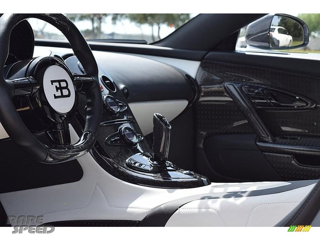 2008 Veyron 16.4 Mansory Linea Vivere - Pearl Metallic / White photo #81