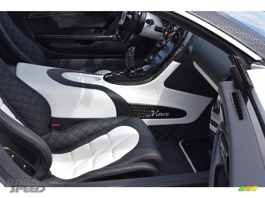 2008 Veyron 16.4 Mansory Linea Vivere - Pearl Metallic / White photo #92