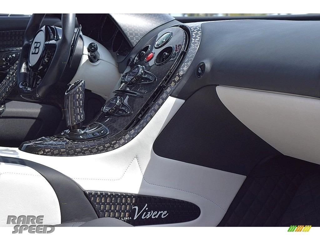 2008 Veyron 16.4 Mansory Linea Vivere - Pearl Metallic / White photo #97