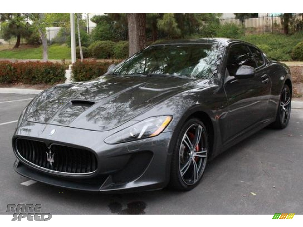 2014 Maserati Granturismo Mc Coupe In Grigio Lava Dark