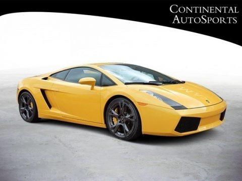 Giallo Halys (Yellow) 2007 Lamborghini Gallardo Coupe