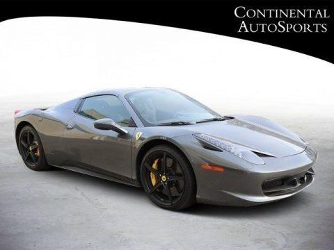 Grigio Silverstone (Dark Grey Metallic) 2015 Ferrari 458 Italia