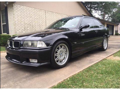 Jet Black 1995 BMW M3 Coupe