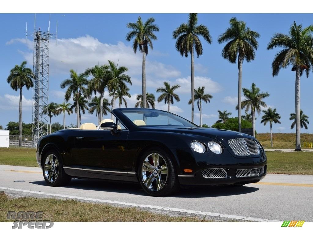 2007 Continental GTC  - Diamond Black / Magnolia photo #1