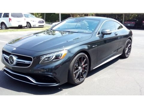 Magnetite Black Metallic 2016 Mercedes-Benz S 63 AMG 4Matic Coupe
