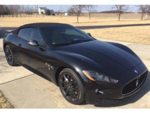 Nero (Black) 2012 Maserati GranTurismo Convertible GranCabrio