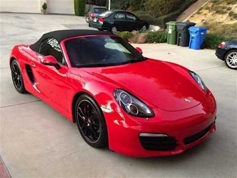 Guards Red 2013 Porsche Boxster S