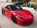 Porsche Boxster S Guards Red photo #1
