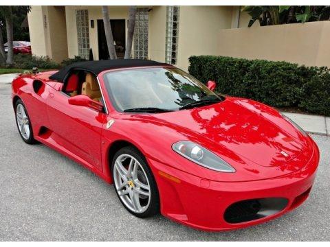 Rosso Corsa (Red) 2007 Ferrari F430 Spider F1