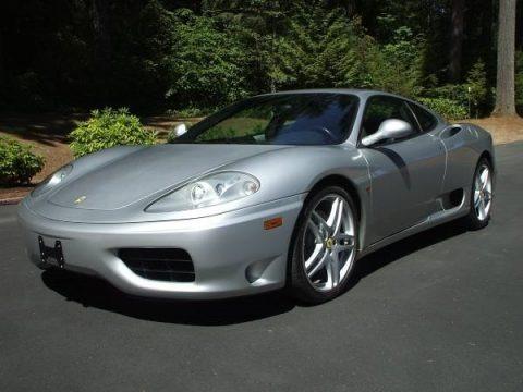 Silver 1999 Ferrari 360 Modena