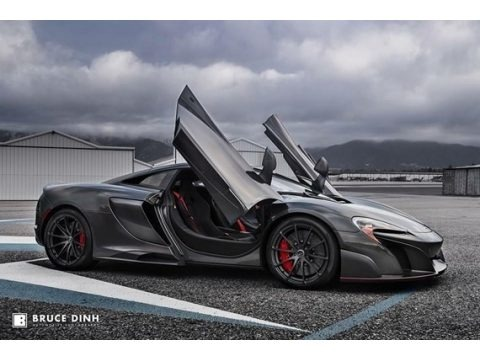 Storm Grey 2016 McLaren 675LT Coupe
