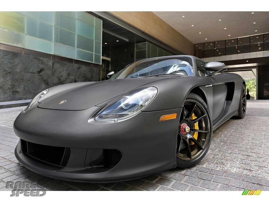 2005 Carrera GT  - Black / Dark Grey Natural Leather photo #1
