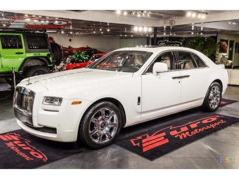 English White 2011 Rolls-Royce Ghost