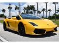 Lamborghini Gallardo LP 550-2 Spyder Giallo Midas Pearl Effect photo #8