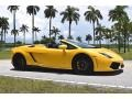 Lamborghini Gallardo LP 550-2 Spyder Giallo Midas Pearl Effect photo #9