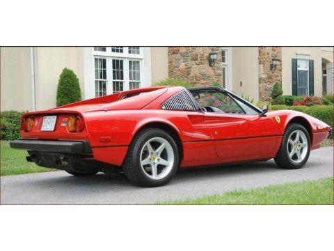 Rosso (Red) 1980 Ferrari 308 GTSi Targa
