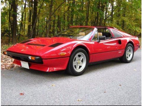 Rosso (Red) 1985 Ferrari 308 GTS Quattrovalvole