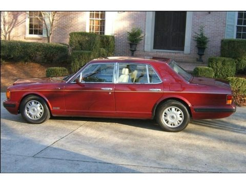 Red Pearl 1997 Bentley Brooklands
