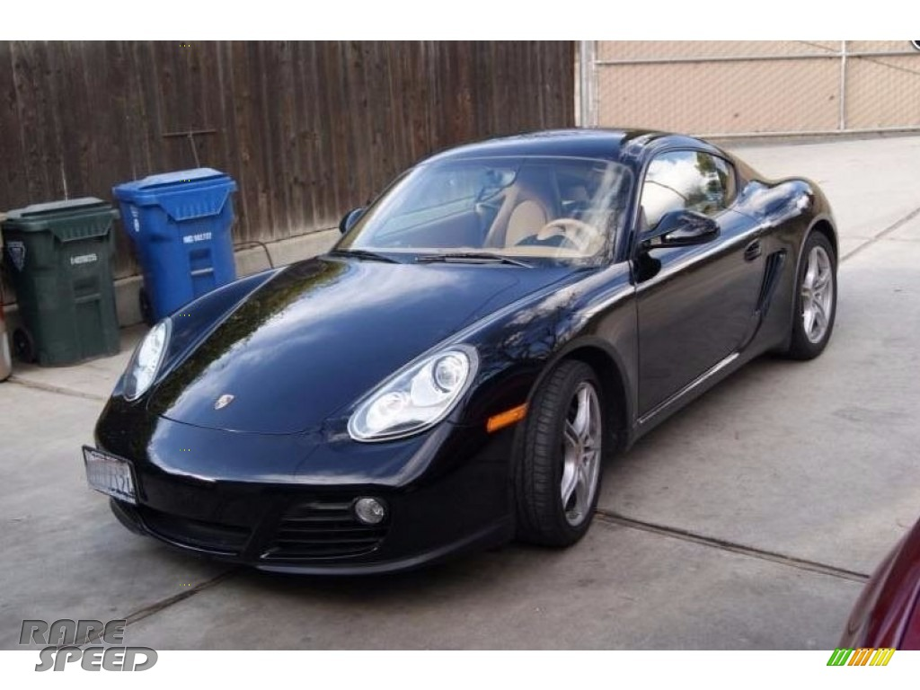 2009 Cayman  - Black / Sand Beige photo #1