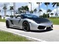Lamborghini Gallardo Spyder E-Gear Grigio Altair Metallic photo #1