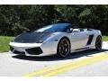 Lamborghini Gallardo Spyder E-Gear Grigio Altair Metallic photo #2