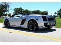 Lamborghini Gallardo Spyder E-Gear Grigio Altair Metallic photo #3