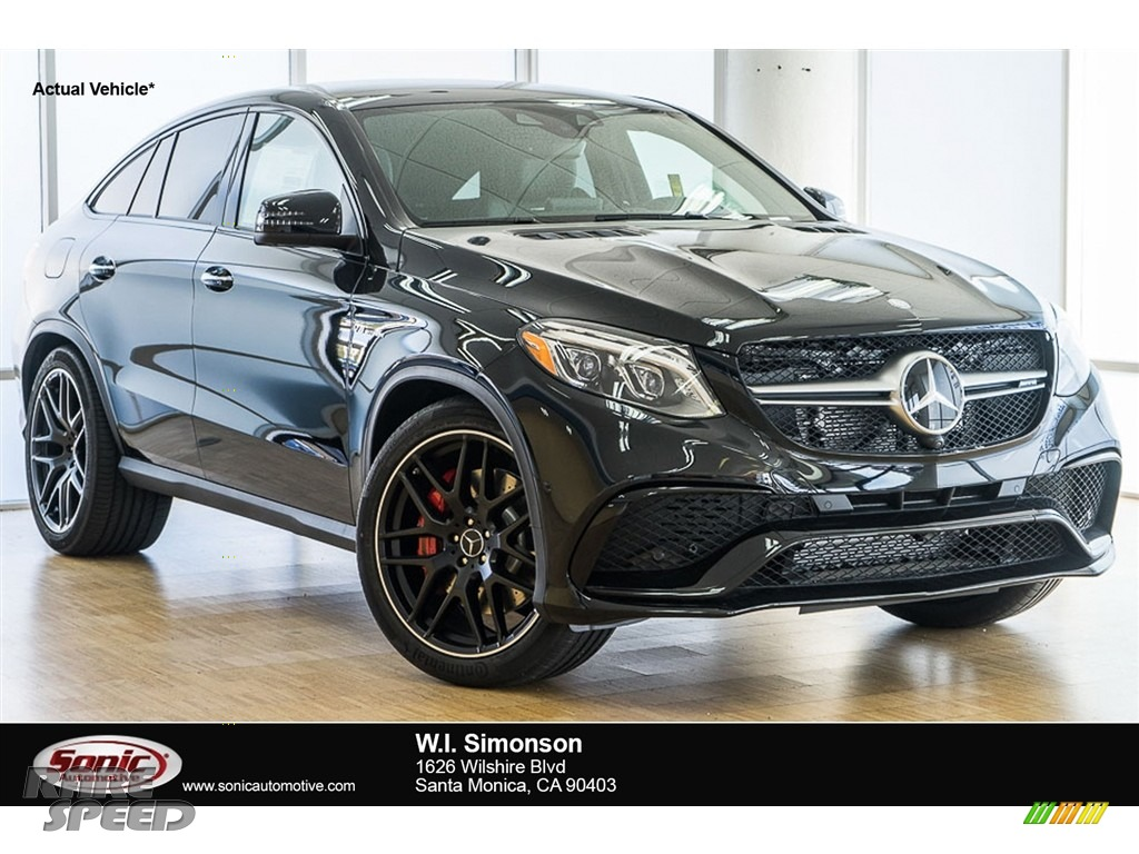 2017 mercedes benz gle 63 s amg 4matic coupe in black for Simonson mercedes benz