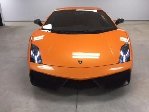 Arancio Borealis (Orange) 2010 Lamborghini Gallardo LP570 Superleggera