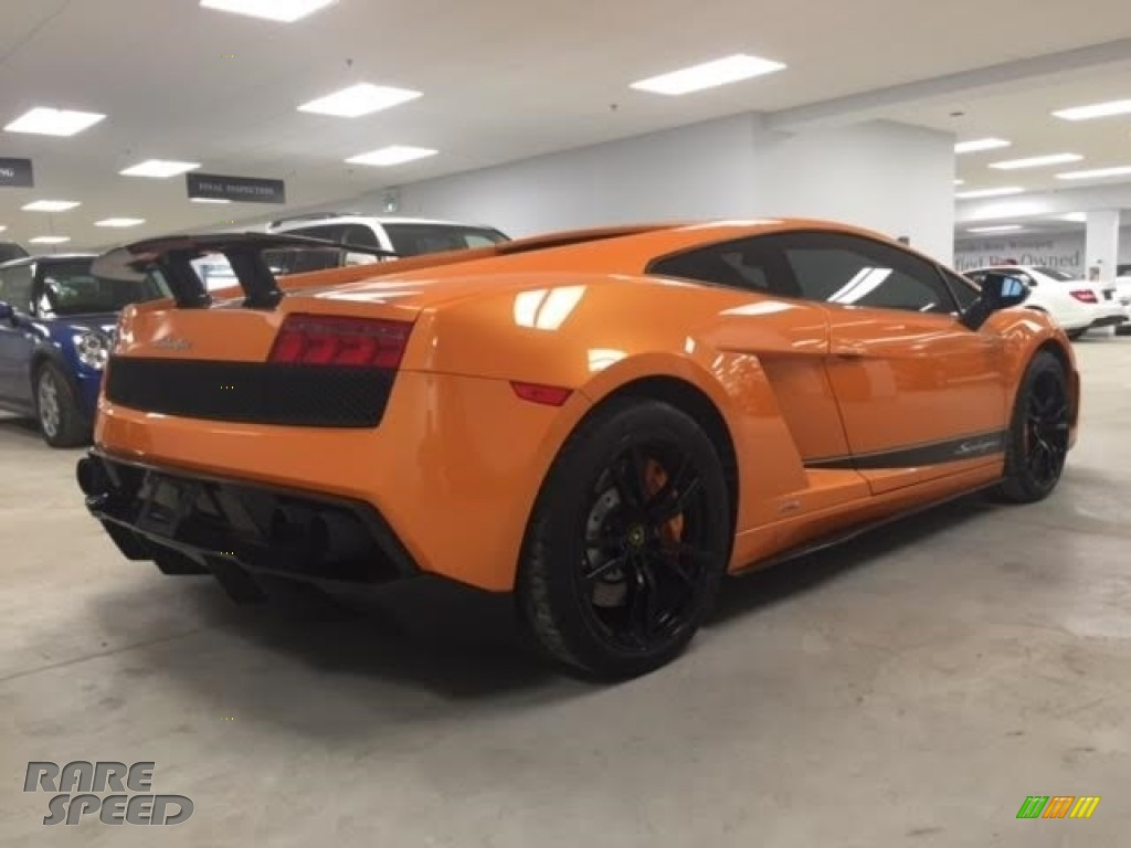 2010 Gallardo LP570 Superleggera - Arancio Borealis (Orange) / Black photo #20