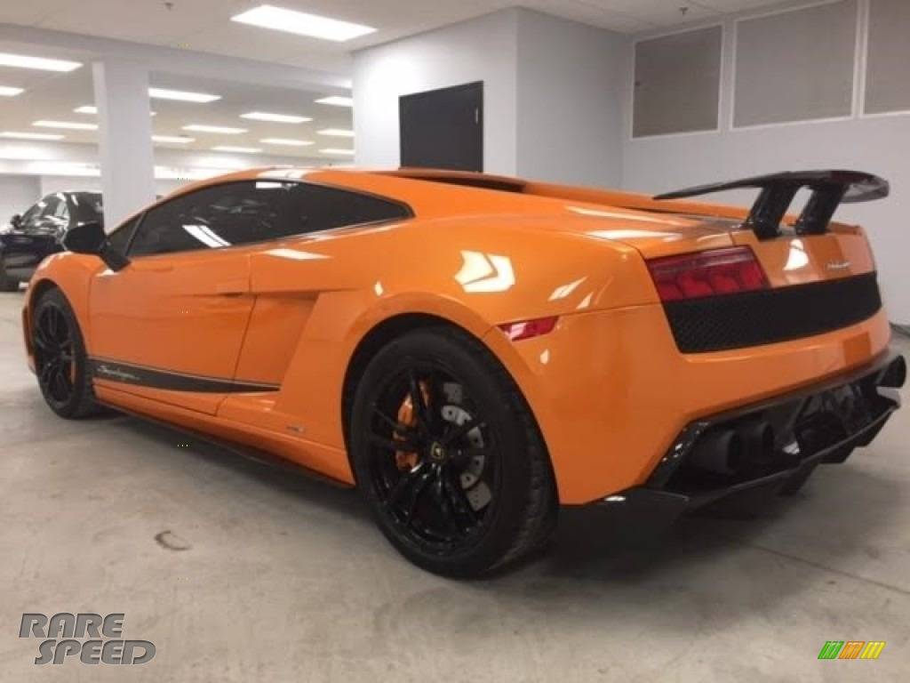 2010 Gallardo LP570 Superleggera - Arancio Borealis (Orange) / Black photo #22