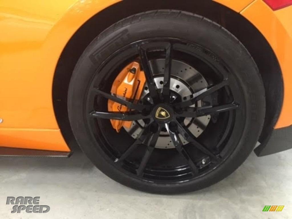 2010 Gallardo LP570 Superleggera - Arancio Borealis (Orange) / Black photo #24