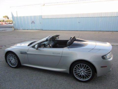 Silver Blonde 2011 Aston Martin V8 Vantage Roadster