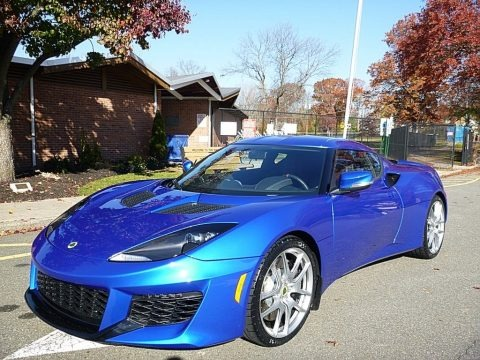 Metallic Blue 2017 Lotus Evora 400