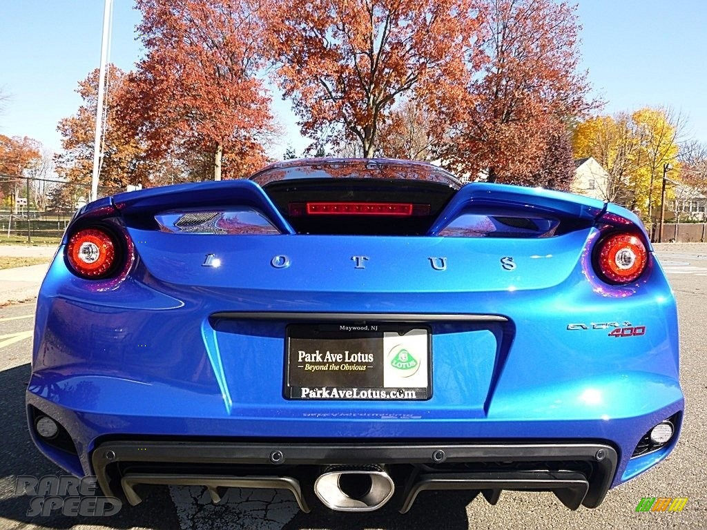 2017 Evora 400 - Metallic Blue / Black photo #4