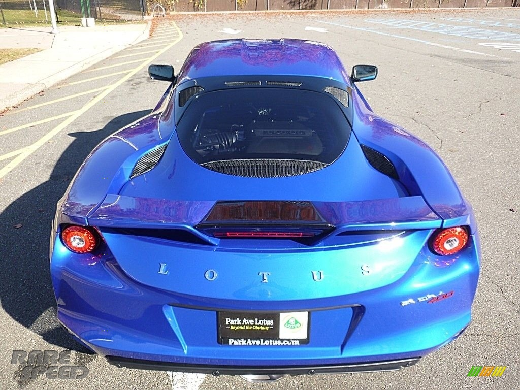 2017 Evora 400 - Metallic Blue / Black photo #5