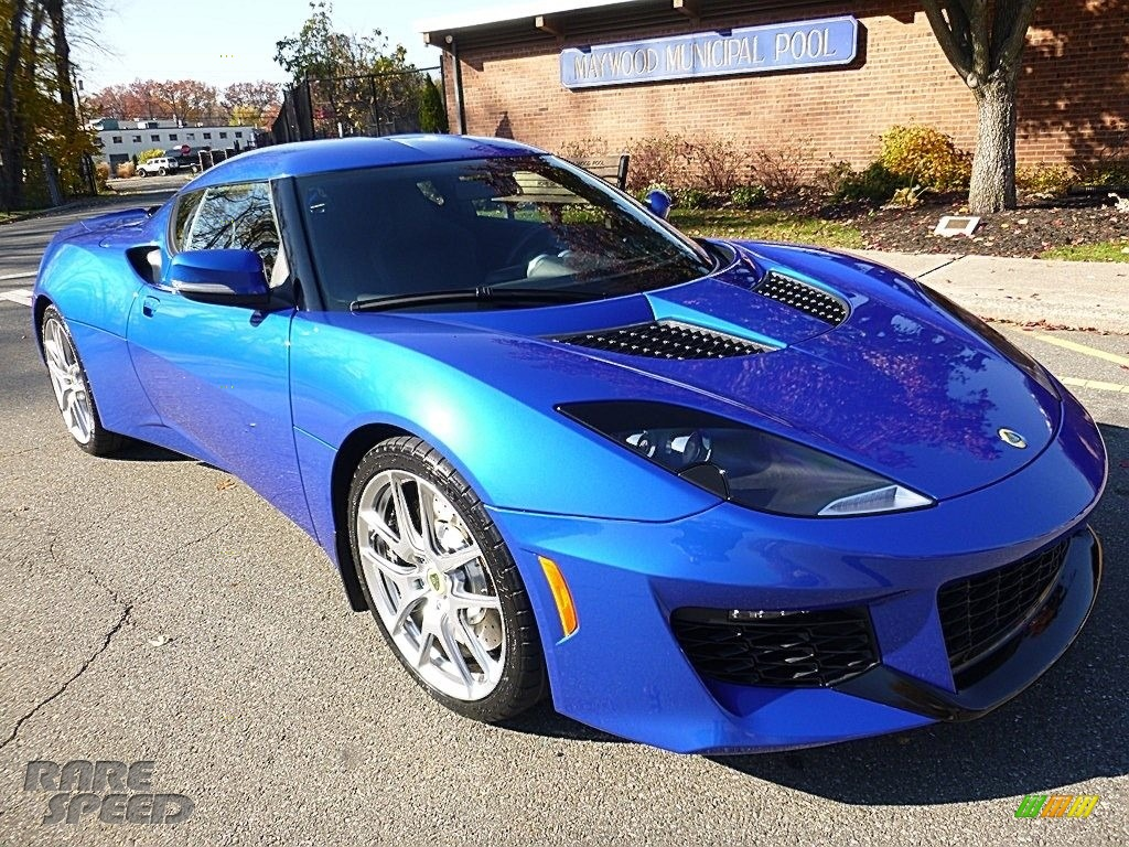 2017 Evora 400 - Metallic Blue / Black photo #8