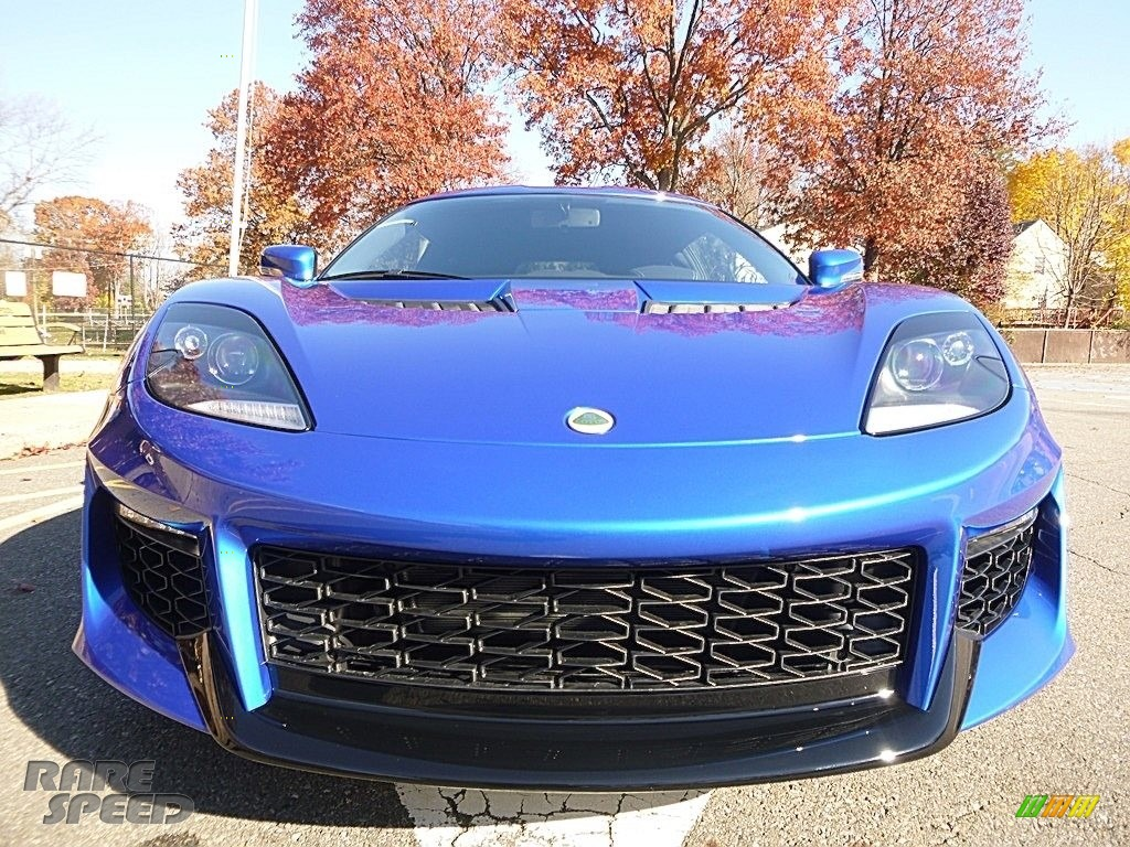2017 Evora 400 - Metallic Blue / Black photo #10