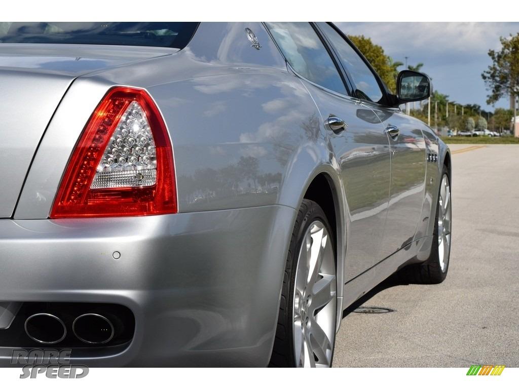 2009 Quattroporte  - Grigio Touring (Silver) / Nero photo #5