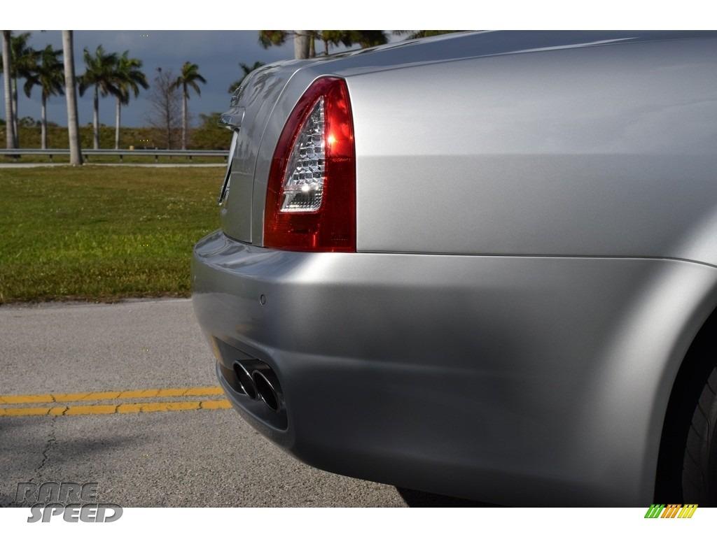 2009 Quattroporte  - Grigio Touring (Silver) / Nero photo #8