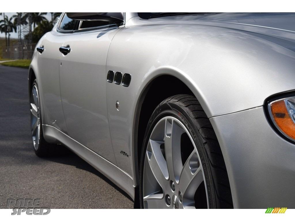 2009 Quattroporte  - Grigio Touring (Silver) / Nero photo #11