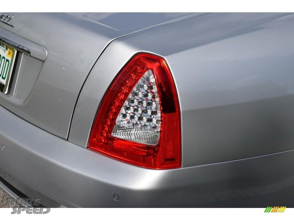 2009 Quattroporte  - Grigio Touring (Silver) / Nero photo #20