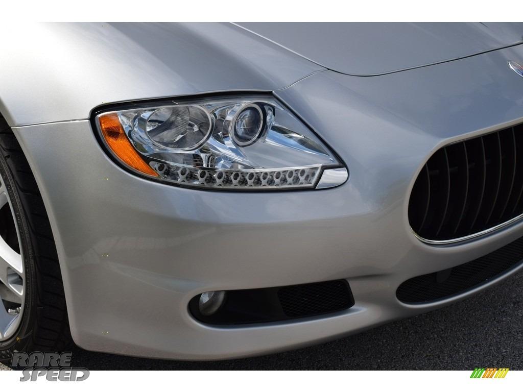 2009 Quattroporte  - Grigio Touring (Silver) / Nero photo #22