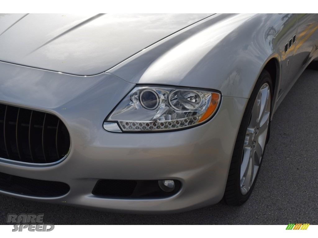 2009 Quattroporte  - Grigio Touring (Silver) / Nero photo #24