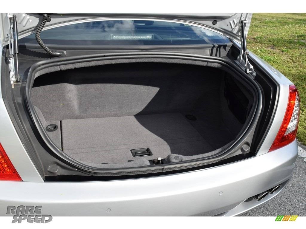 2009 Quattroporte  - Grigio Touring (Silver) / Nero photo #35