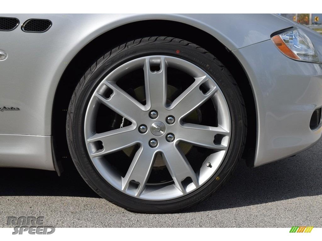 2009 Quattroporte  - Grigio Touring (Silver) / Nero photo #40