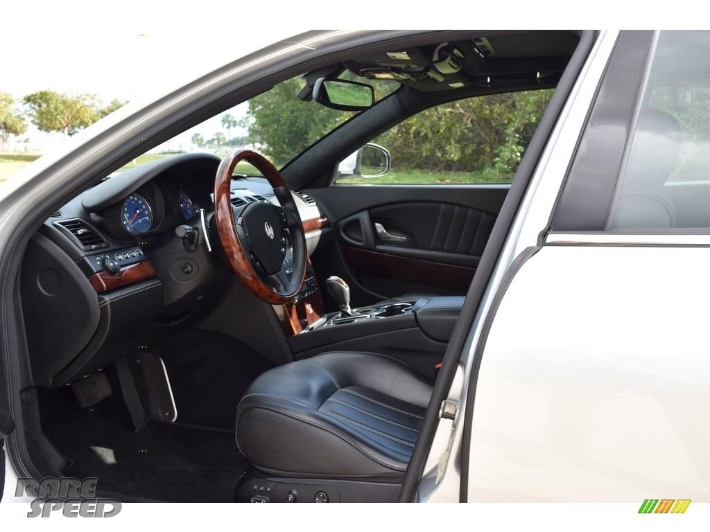 2009 Quattroporte  - Grigio Touring (Silver) / Nero photo #43