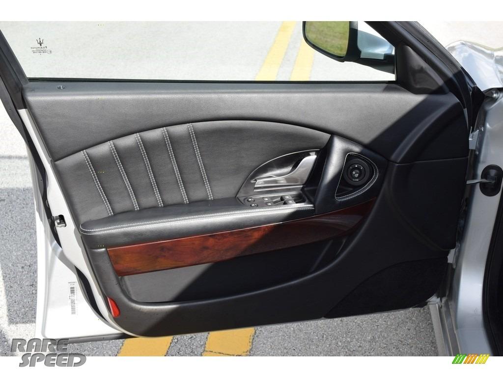 2009 Quattroporte  - Grigio Touring (Silver) / Nero photo #47