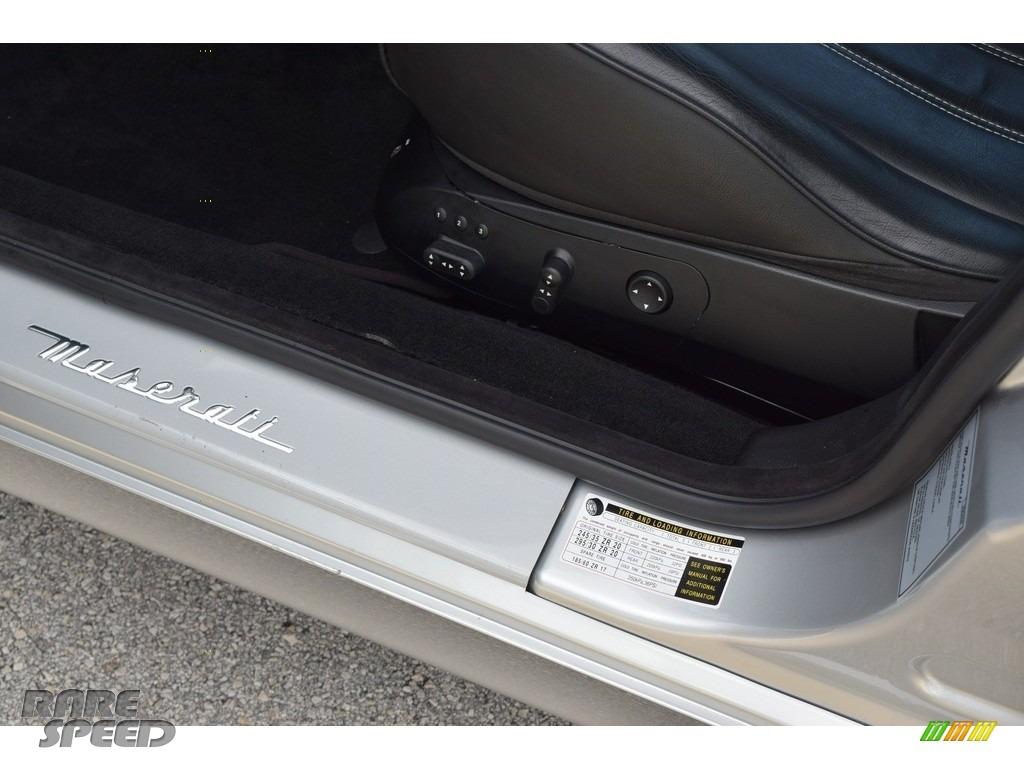 2009 Quattroporte  - Grigio Touring (Silver) / Nero photo #49