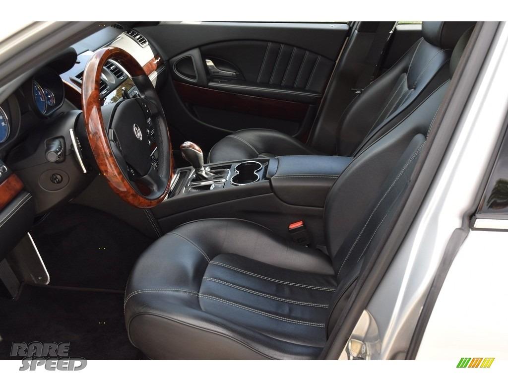 2009 Quattroporte  - Grigio Touring (Silver) / Nero photo #50